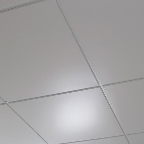 Кассета Албес AP600/A8/90/Т15 белая tegular 90° Al