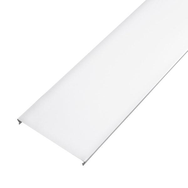 Рейка сплошная S-дизайн 100АS 3м, белая матовая