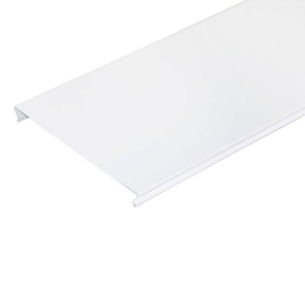 Рейка сплошная S-дизайн 150АS 4м, белая матовая
