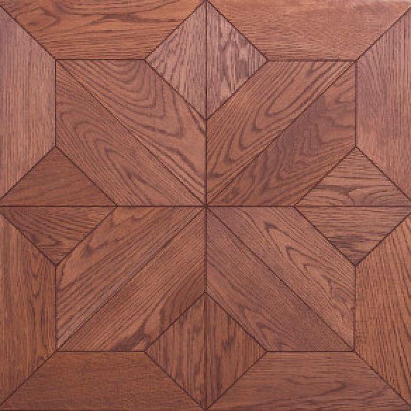 Модуль мозаичный №1-90 Дуб Натур 607x607x15мм