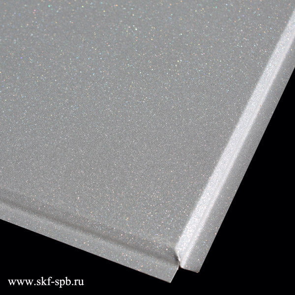 Кассета Албес 595x595 металлик А907 tegular 45° Al