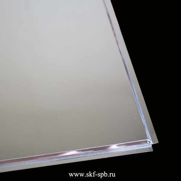 Кассета Албес 595x595 суперхром A741 tegular 45° Al