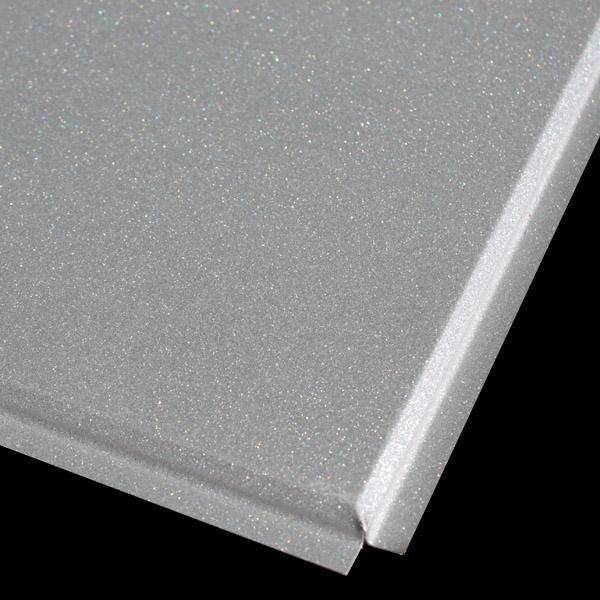Кассета Албес 595x595 металлик А907 tegular 45° Al эконом