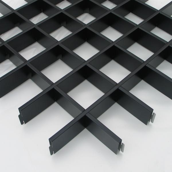 Грильято чёрный 100x100, h=40