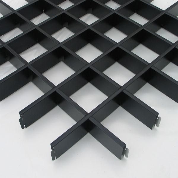 Грильято чёрный 75x75, h=40